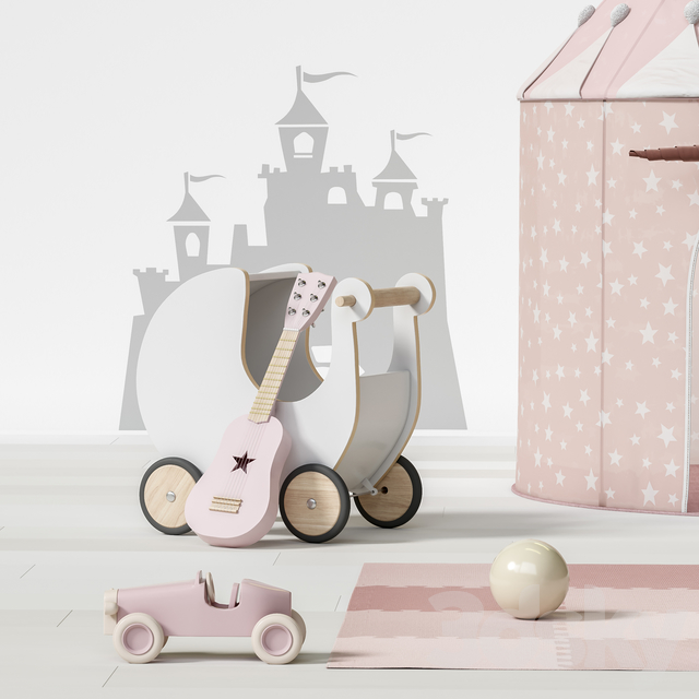 Toys and furniture set 69