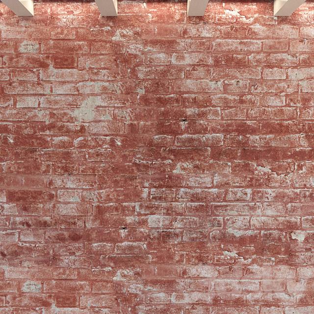 Brick wall. Old brick. 102