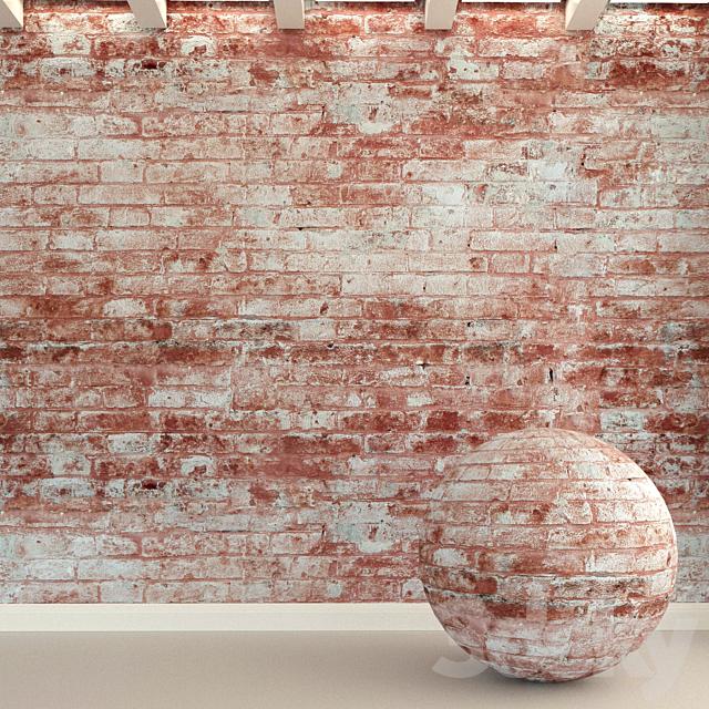 Brick wall. Old brick. 103