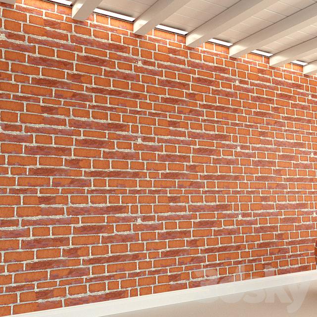 Brick wall. Old brick. 106