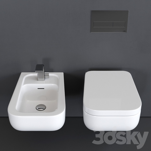 Ceramica Flaminia Como Wall-Hung WC