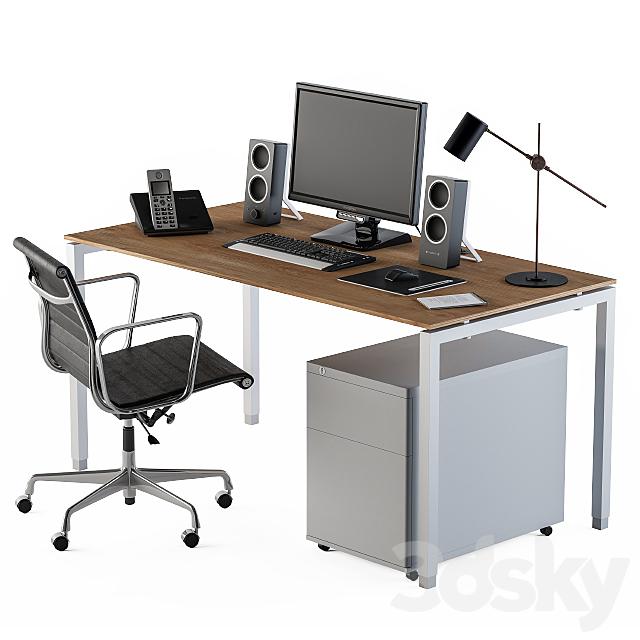 Workplace set system