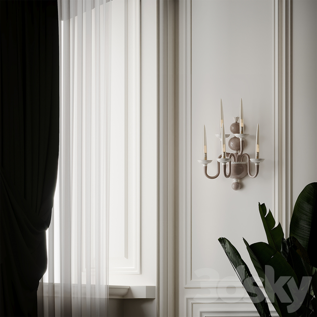 Due Wall Sconce by Venini