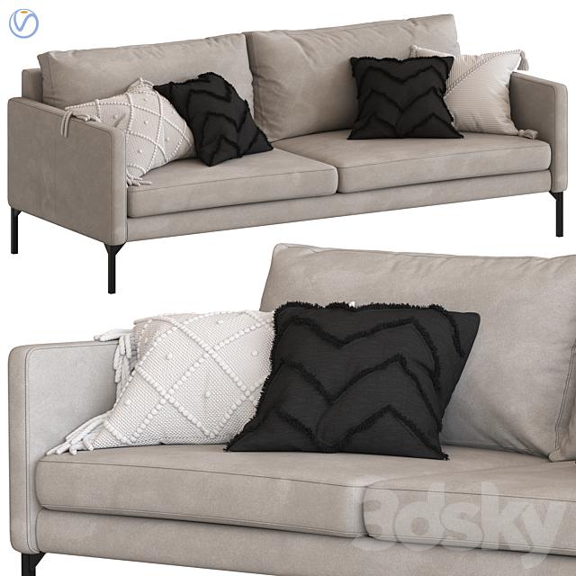 Globewest Bogart 3 seater sofa