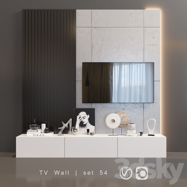 TV Wall | set 54