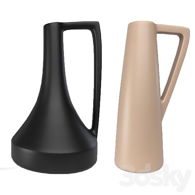 Scandinavian vase set