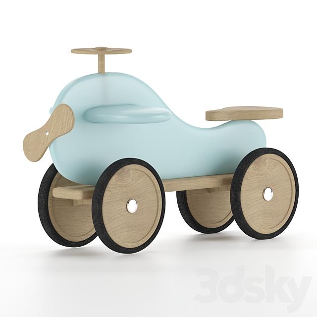 baby car whale blue