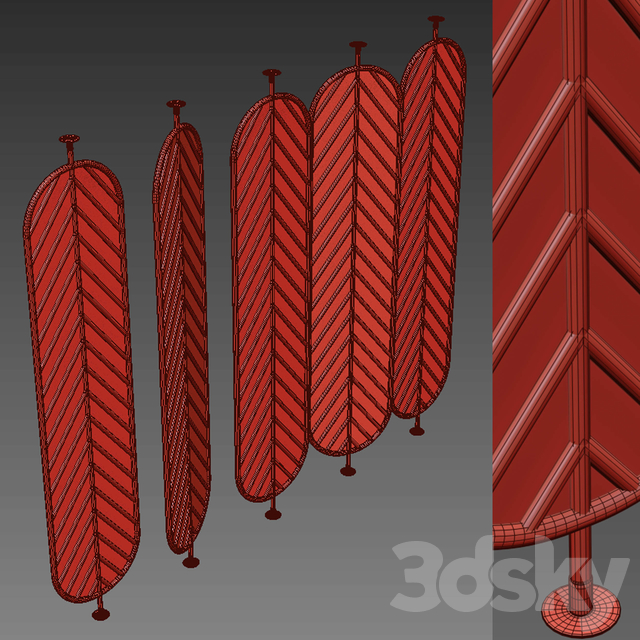 Decorative partition 44