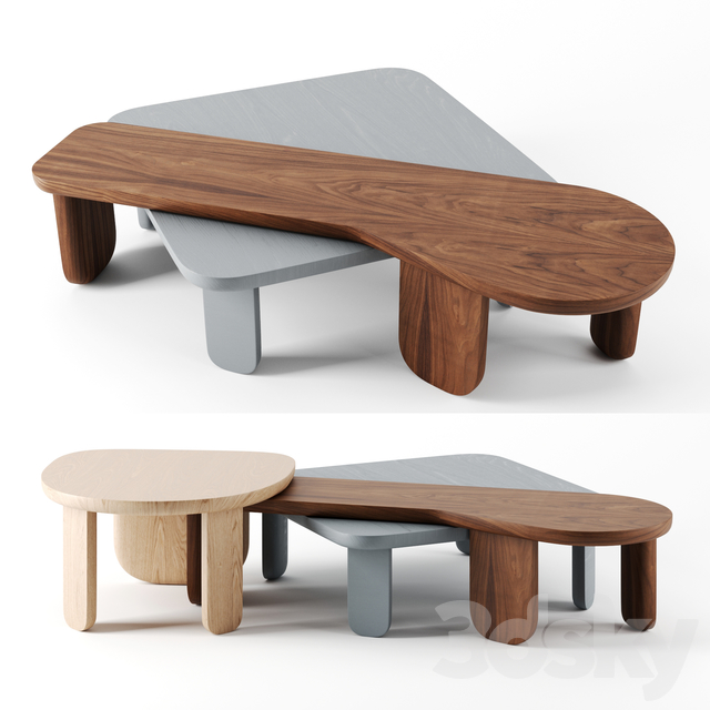 Kim side tables by DeLaEspada