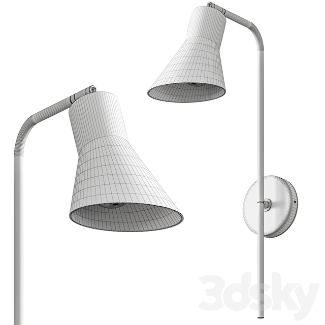 Conico Wall Lamp by Metal Lux