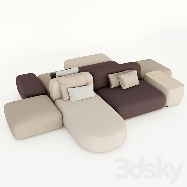 lapalma. plus. modular sofa.