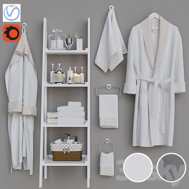 Decorative set for a bathroom 8