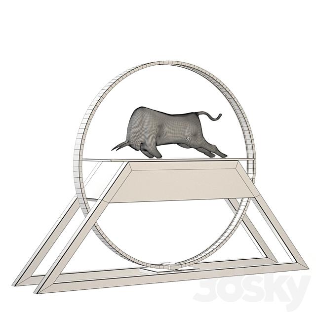 Decorative bull