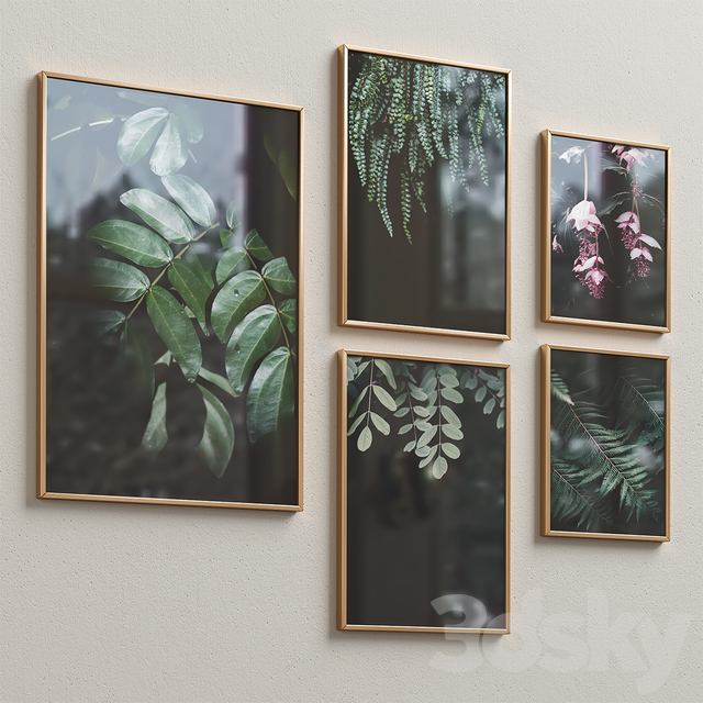 Interior Picture Frames Set-11