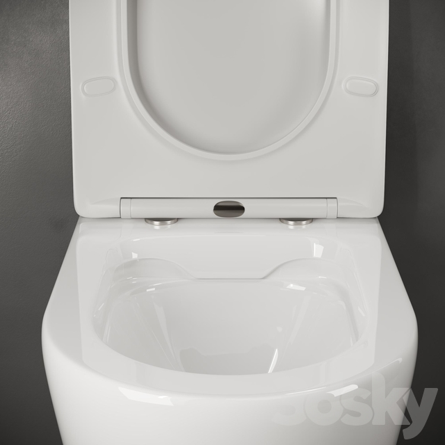 Wall-hung toilet Ceramica Nova_HighLight CN1804