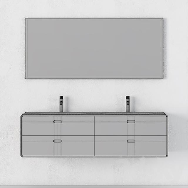 Modern Bathroom Cabinet | No. 071