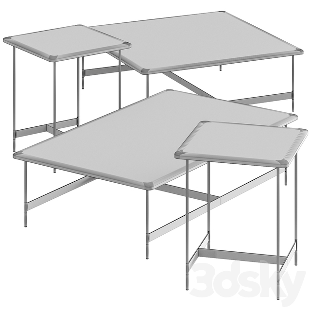 Potocco Little T Coffee Tables