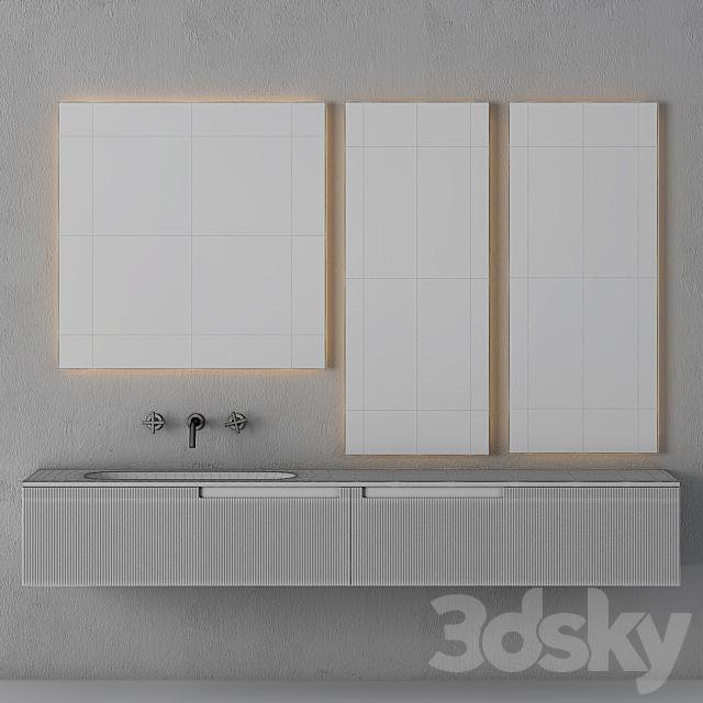Modern Bathroom Cabinet | No. 073- Fiora Snergy Serie