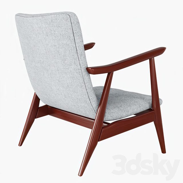 Louis van Teeffelen lounge chair