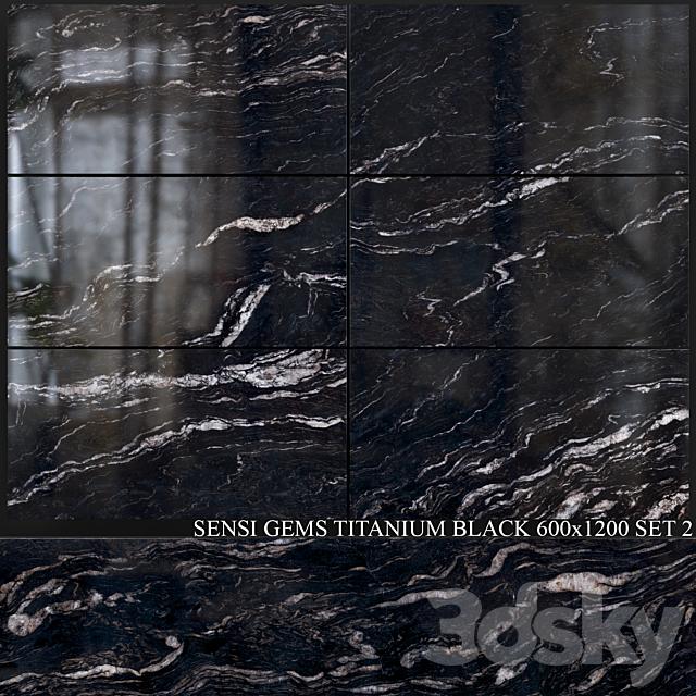 ABK Sensi Gems Titanium Black 600x1200 Set 2