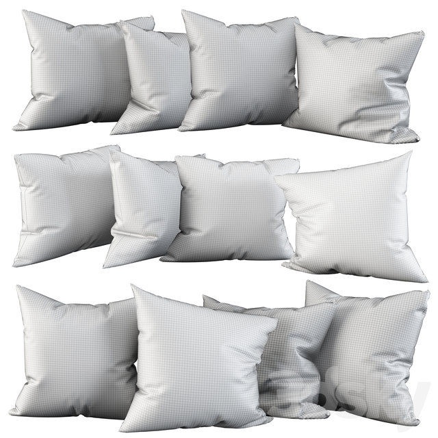 Nordic Geometry 4 Pillow Set