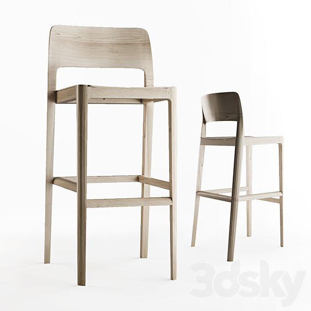 Bar stool scandinavian