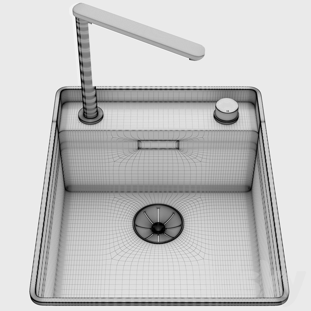 Blanco - Mixer Tap Culina and Sinks Attika