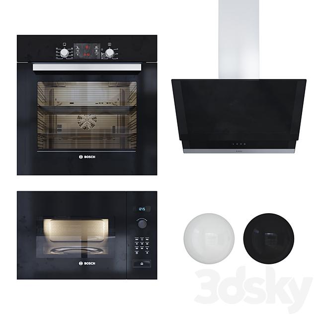 Kitchen Appliances Set2 Bosch