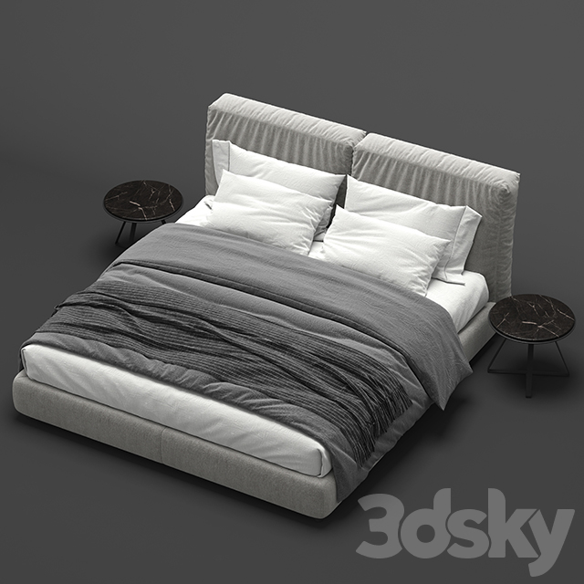 Flexform Newbridge Soft Bed