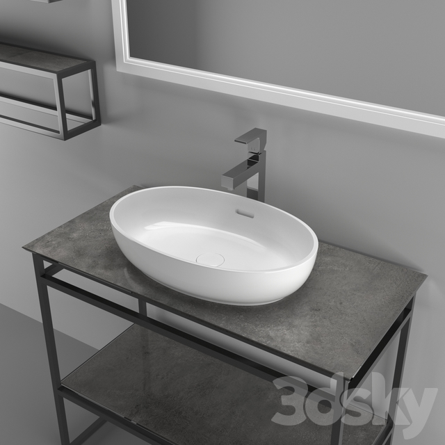 """Collection of plumbing and bathroom furniture """"PLAZA NEXT"""""""