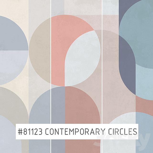Creativille   Wallpapers   81123 Contemporary circles