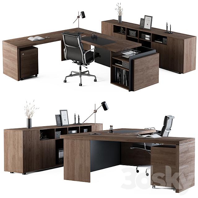 Office Furniture - Manager Set03