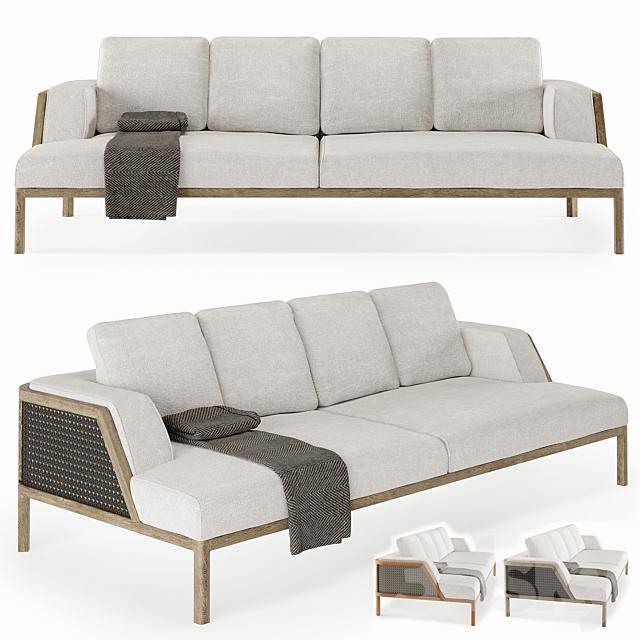 Ethimo Grand Life XL Sofa