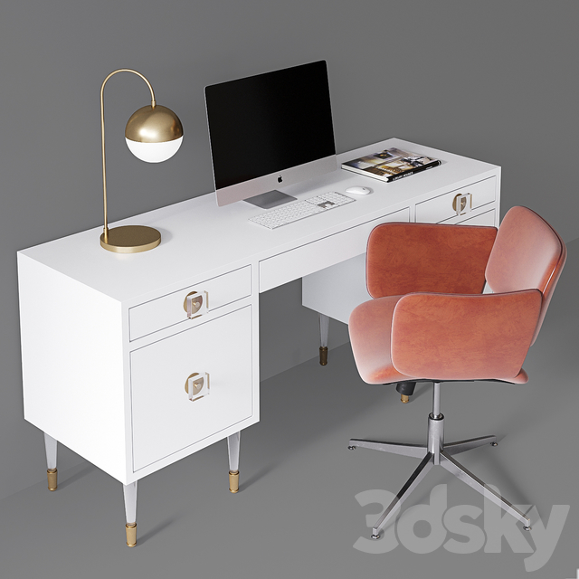 CB2 & Anthropologie Office Furniture set