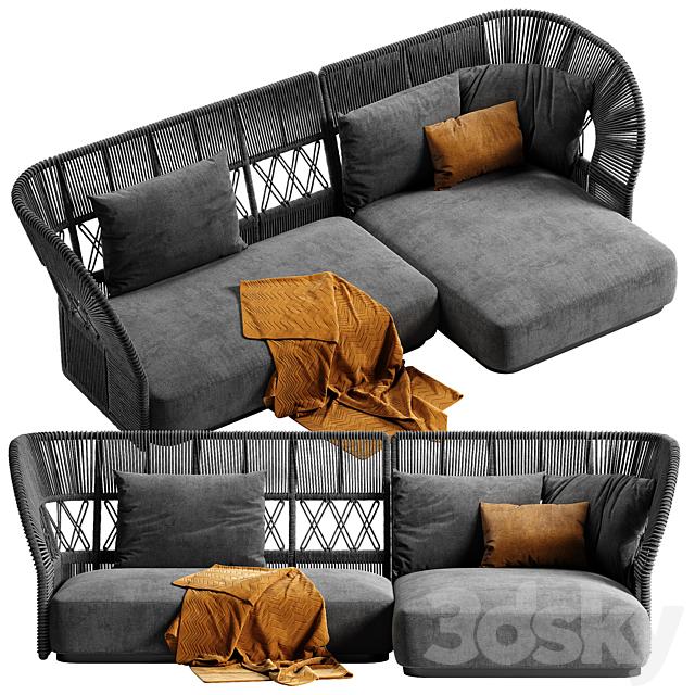 Talenti Cliff Deco sofa 1