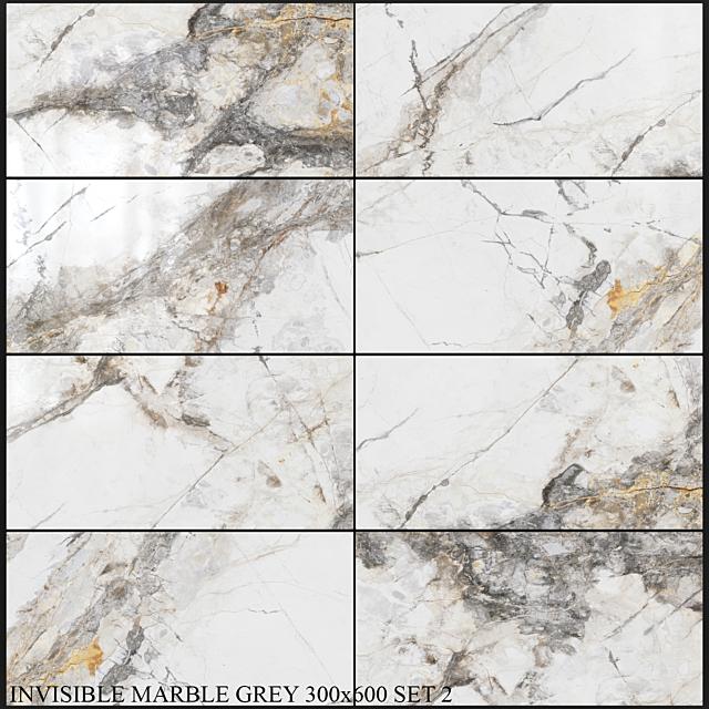 Yurtbay Seramik Invisible Marble Gray 300x600 Set 2