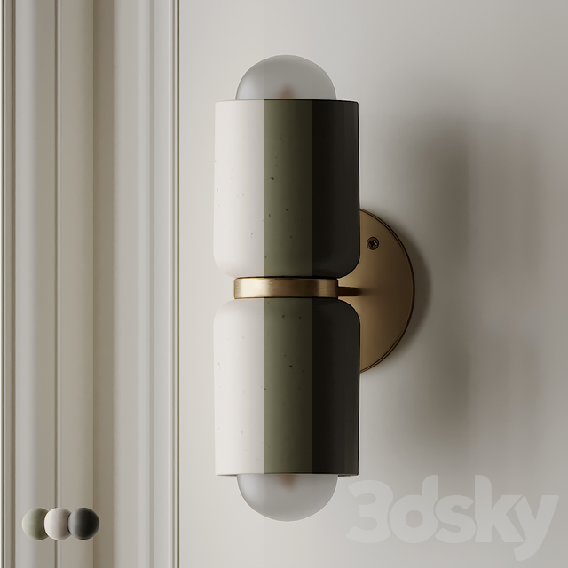 Terra 2 Wall Sconce by MARZ DESIGN