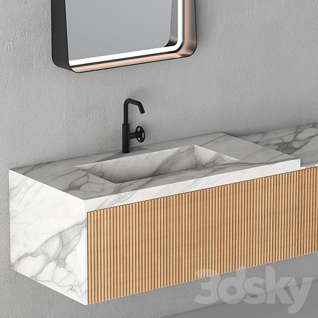Modern Bathroom Cabinet | No. 075