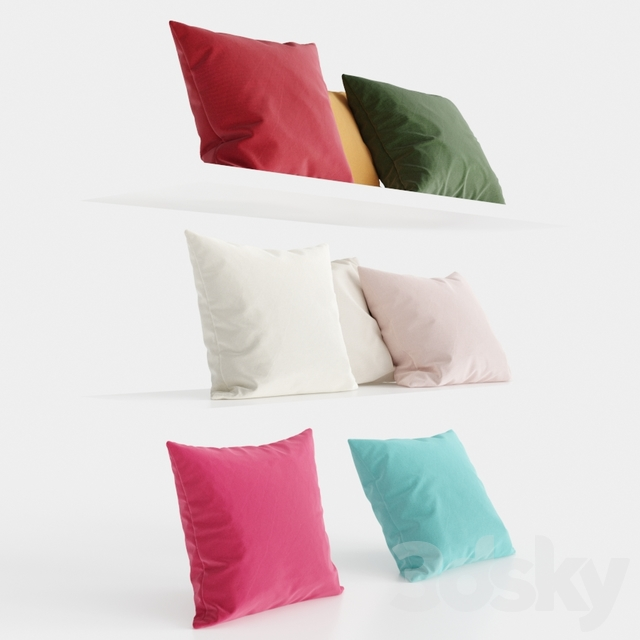 H&M Home Cotton Pillows