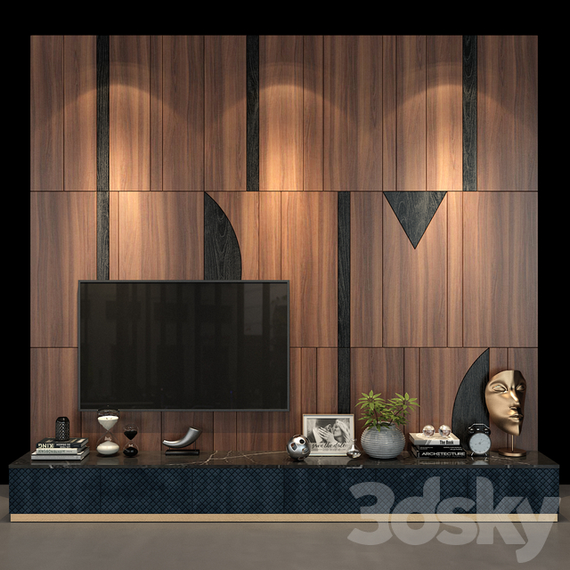 TV Wall set 57