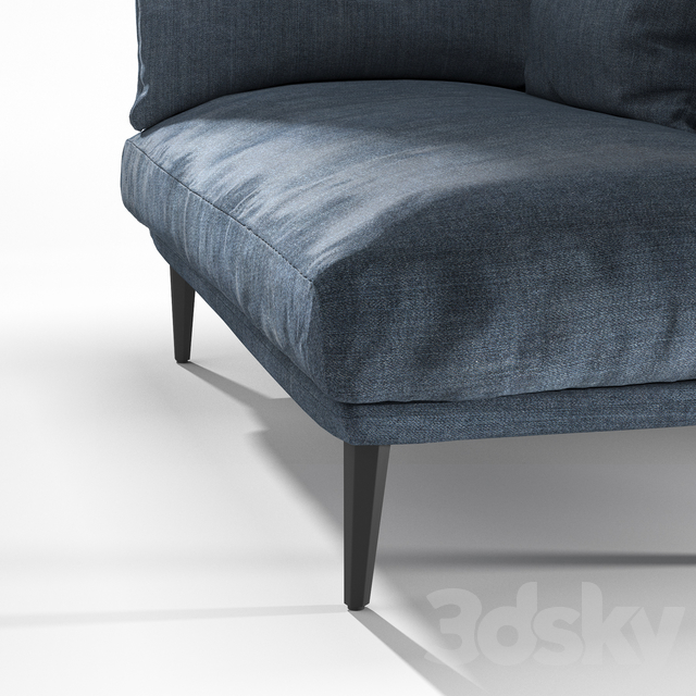 Sister Ray Chaise longue by Diesel with Moroso