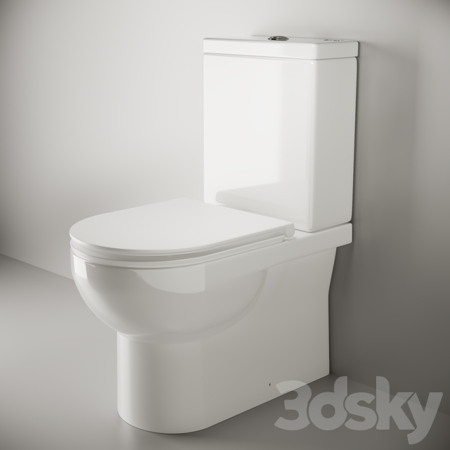 Ceramica Nova_ Cult_CN1201C floor-mounted toilet