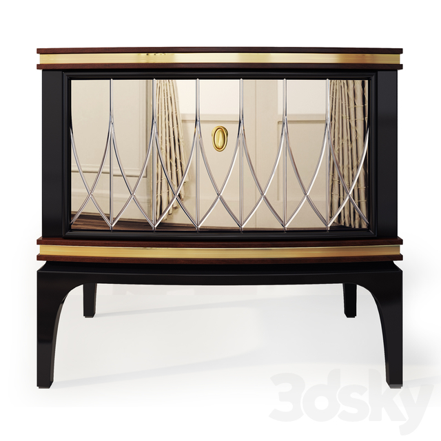 Chest and nightstand Milano. Nightstand, sideboard by Medusa Home