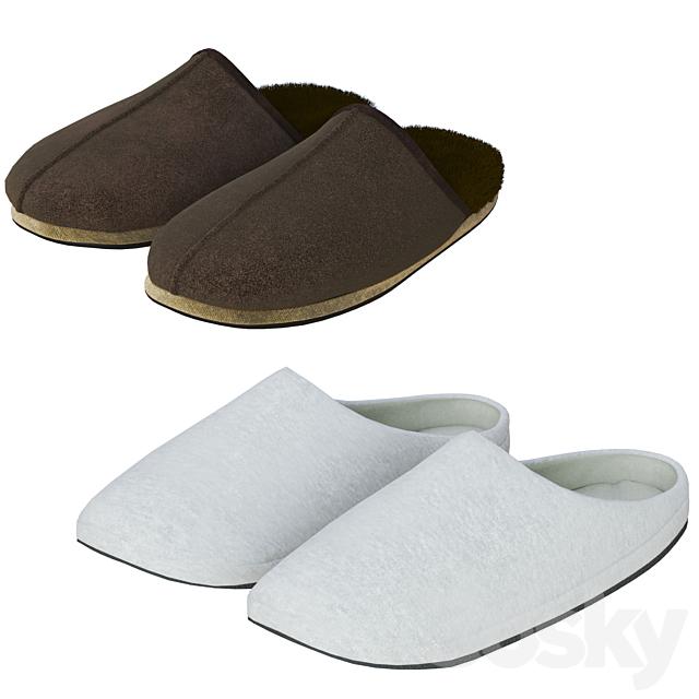 Slippers set
