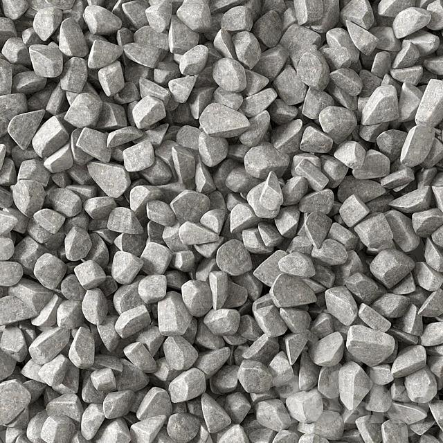 Gravel splinter decor Big kit n2 / gravel chip for decor