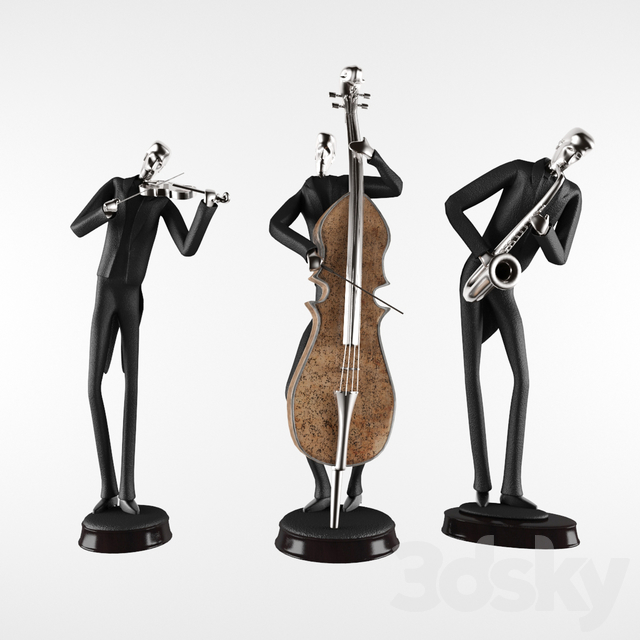 3d Models Sculpture Mikkelson Figurine