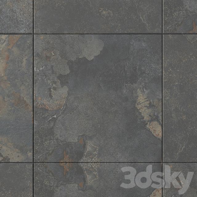 Stone Wall Tiles Kayah Rust Set 1