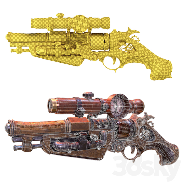 Victorian Vintage Handgun