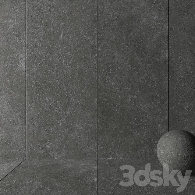 Stone Wall Tiles Kibo Fume Set 1