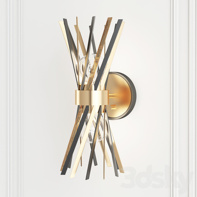 3d models: Wall light - Electrum 2-Light Plug-In Armed Sconce See More by Jonathan Adler top 25 wall lights ideas for the 2021 year Top 25 Wall Lights Ideas For The 2021 Year 2926992